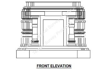 Elevation of the Temples