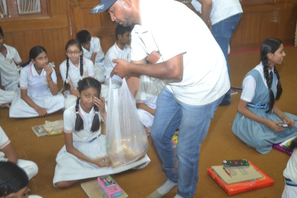 Swachhta Abhiyan and Drawing Competition at St. Thomas School, Bhopal