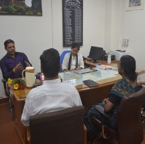 Hindi Workshop at Temple Survey Project(NR), Bhopal.