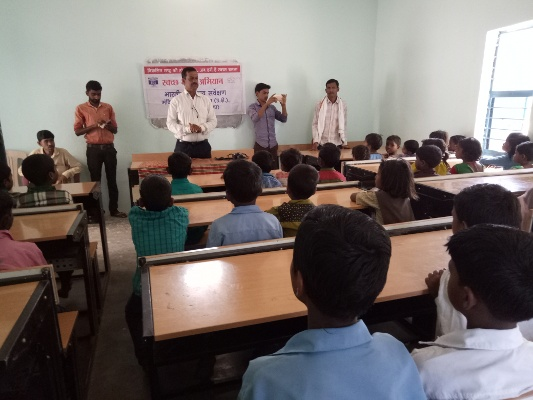 Swachhta Abhiyan at Tenduha, Distt. - Singrauli (25 April 2018)